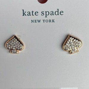 NEW Kate Spade Paved Rose Gold Tone EVERYDAY SPADE